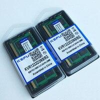 16 ГБ 2x8 ГБ ddr3 pc3 10600 1333 мГц sodimm 204 контактный Тетрадь памяти ноутбука памяти Оперативная память 1333 мГц низкой плотности Non ECC протестированы