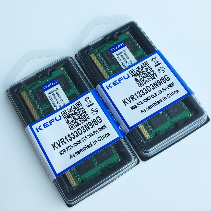 16GB 2X 8GB DDR3 PC3-10600 1333mhz Sodimm 204-pin Notebook MEMORY Laptop Memory RAM 1333MHZ low density Non-Ecc  full tested server memory for t3500 t5500 8g ddr3 1333 ecc one year warranty