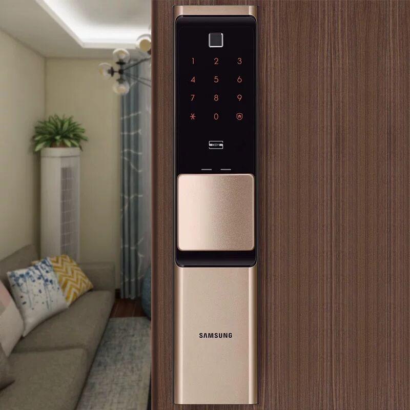 2019 NEUE SAMSUNG Fingerprint Digital Wifi Türschloss IoT Keyless SHP DR719 Große Moritse - 2