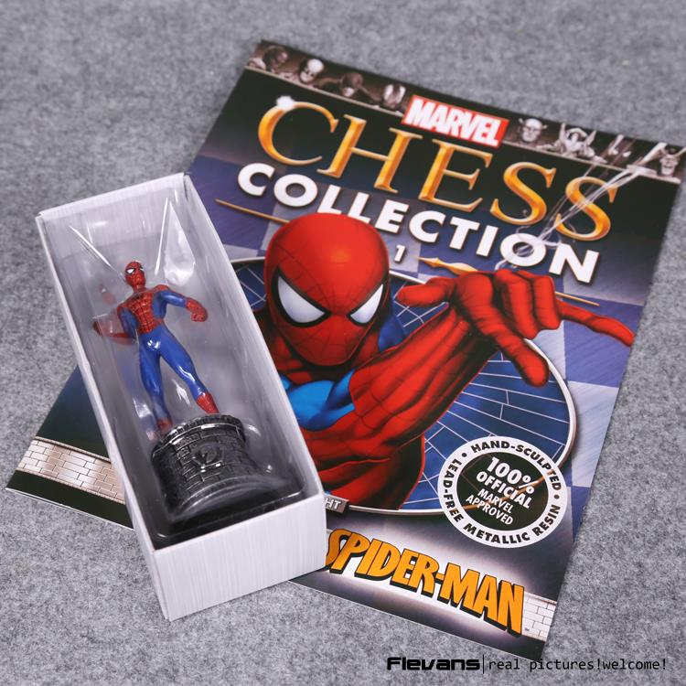 Marvel Chess Spiderman The Amazing Spider-man PVC Action Figure Collectible Model Toy 5