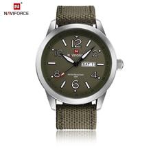 NAVIFORCE Sports Men Watch Army Military Mens Wristwatch Week Display Fashion Casual
