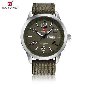Image 5 - NAVIFORCE reloj de pulsera deportivo para hombres, reloj de pulsera militar para hombres, reloj de pulsera informal a la moda para Camping, reloj Masculino