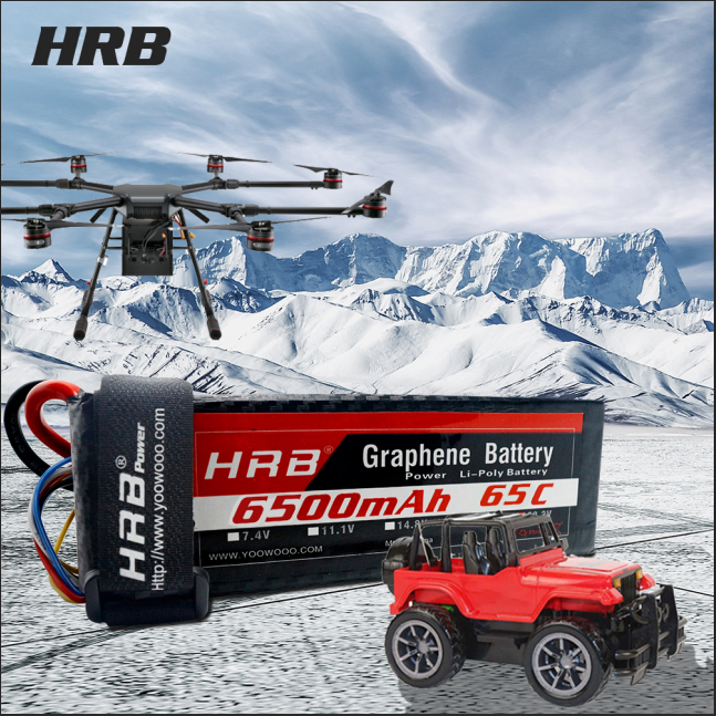 More Powerful 6500mAh 65C 130C Graphene Battery 2S 3S 4S 5S 6S for RC airplane Boat Traxxas Car rc airplane