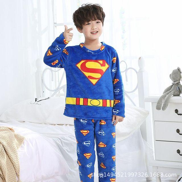 b08c1915a9 2019 Kids Flannel Pajamas Sets Warm Coral Fleece High Quality Girls Cartoon  Sleepwear Winter Long Sleeve Home Clothing FG5644