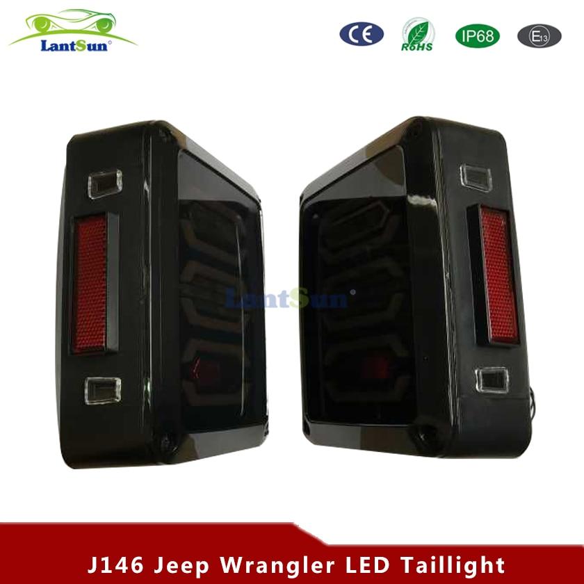 Pereche J146 moda design ediție europeană reversor frână semnal - Faruri auto