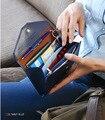 Envelope type multifunctional mobile phone wallet women purse dollar price coin wallet long travel passport hand bag  yjp030