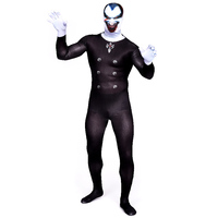 (PHC013) Lycra Zentai Spandex Suit Adult Halloween Cosplay Costume Male Dracula Jumpsuit Vampire Christmas