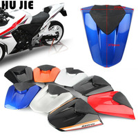 Motorcycle Black Red Rear Pillion Seat Cowl Fairing Cover For Honda CBR500R CBR 500R 2013 2014 2015 13 15