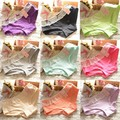 Hot Women Soft Cotton Briefs Solid Color Lace Underwear Panties Knicker Underpants
