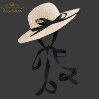 2018 Marka Straw Hat Dzieci Lato Cap Dziecko Kapelusz Słońce Na Dziewczynę wiadro Cap Dzieci Plaży Kapelusz Panama Cap Plaży Słońce kapelusz Wiadro Czapki