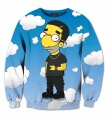 Real USA Size 3D Sublimation print Crewneck Sweatshirt Drake Nothing was the Same fleece men women streetwear plus size