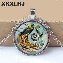 XKXLHJ 3 Color / Fashion Explosion Andreas Preis Animal Art Picture  Necklace Vintage Men and Women Sweater Chain Jewelry gift