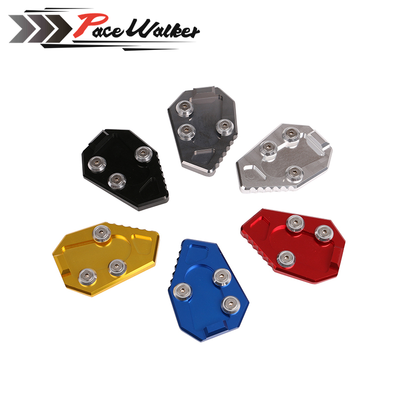 FREE SHIPPING motorcycle Sale Kickstand Foot Side Stand Extension Plate For HONDA CB1000R CB 1000 R 2008-2015 стоимость