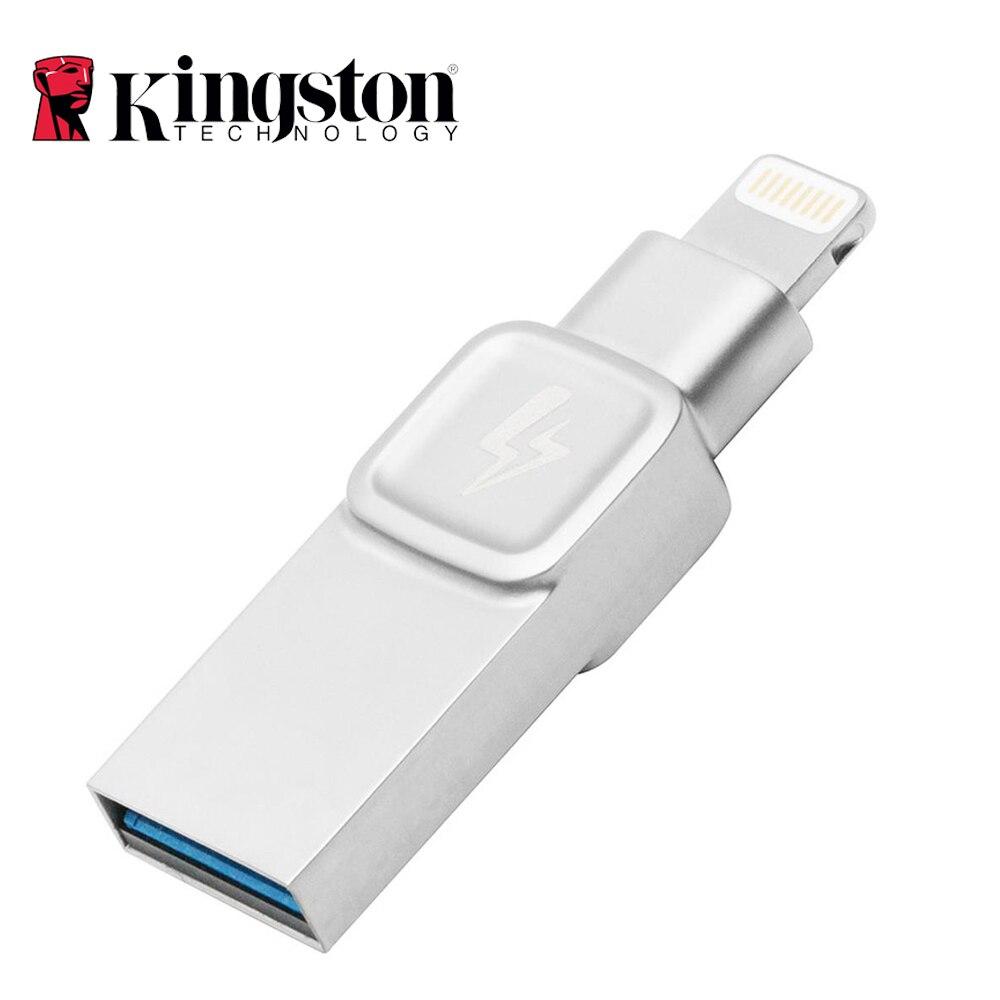 Kingston Bolt USB 3.0 clé Usb pour Apple iPhone ipad avec iOS 9.0 120 mo/s vitesse de lecture 32 GB 64 GB 128 GB disque USB