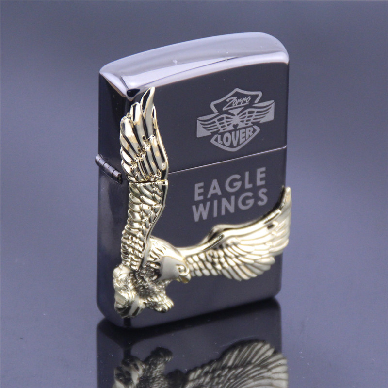 っ2017 águila metal gasolina encendedor, cáscara de cobre pesado ...