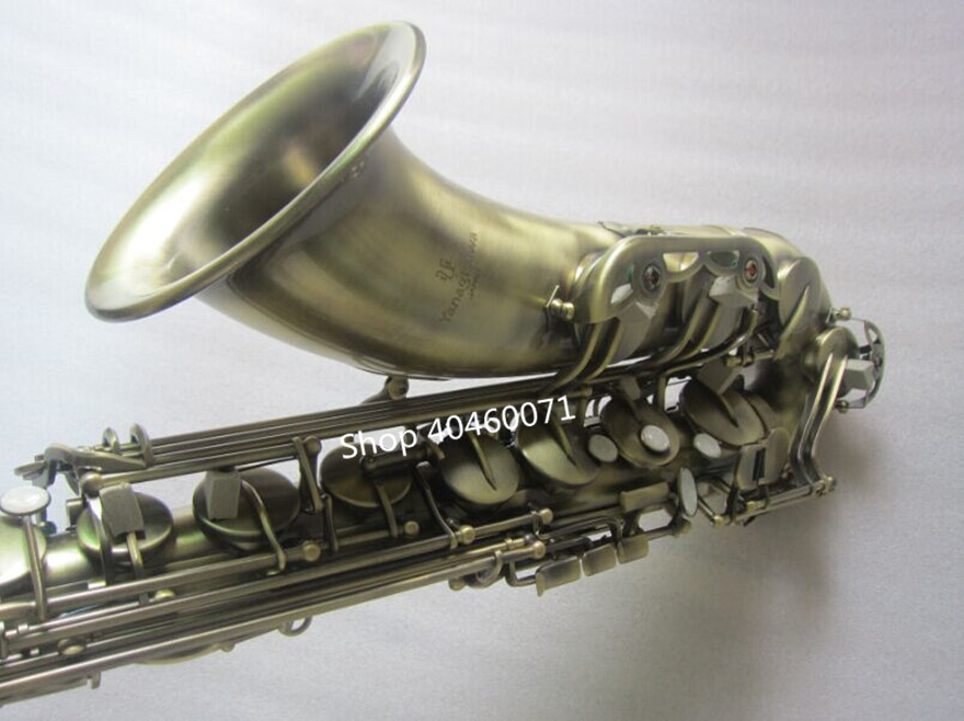 New Japan under High Quality Bb tenor saxophone Yanagisawa T-992 Antique brass Sax Yanagisawa music free shipping