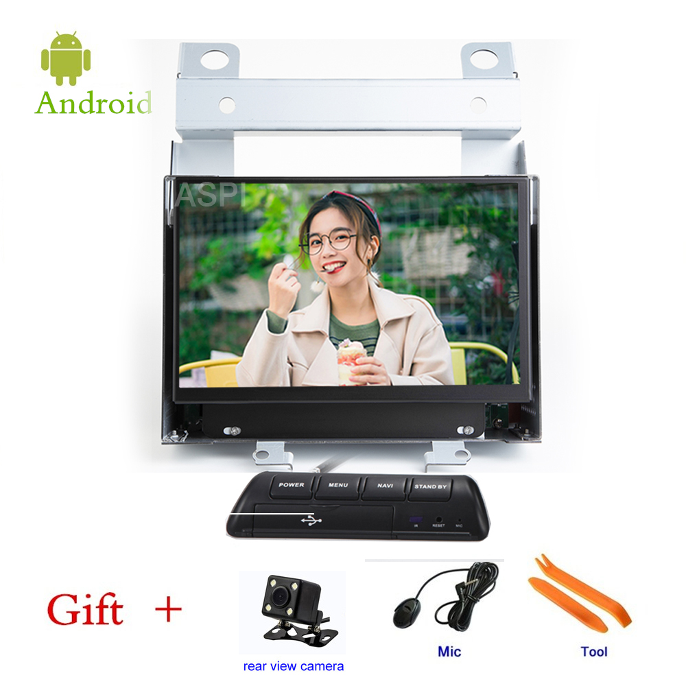 Car DVD player For Land Rover Freelander 2 GPS stereo audio navigation,Android 8.1,One DIN Bluetooth ISP 7'' screen