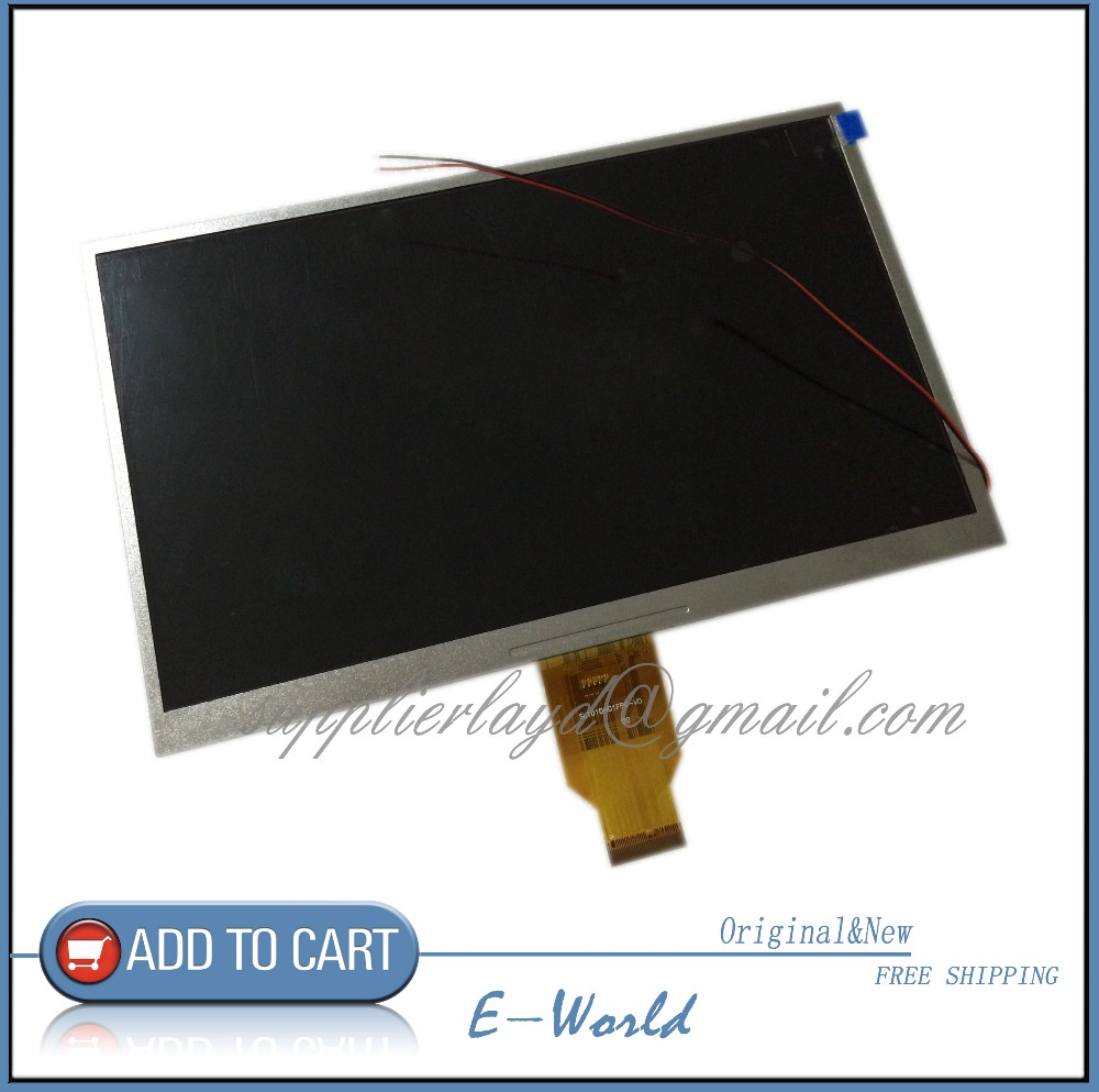 Original 10.1inch 40pin LCD screen SWM101D-00H SWM101D-00 SWM101D for tablet pc free shipping