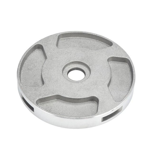 Aparador de Grama Cabeça de alumínio 4 Linhas de Corte Cabeça De Cortador De Escova Acessórios Cortador de Grama de Corte Linha de Substituição de Cabeça Para Strimmer