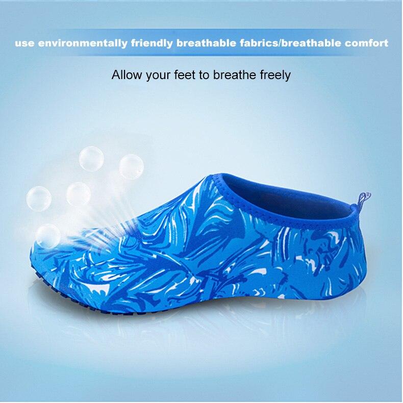 1 (6)Aqua Diving Socks Snorkel Suit Scuba Boot Water Swim Beach Wade Swim Shoes Sneakers Men Women Snorkeling Wading Shoe