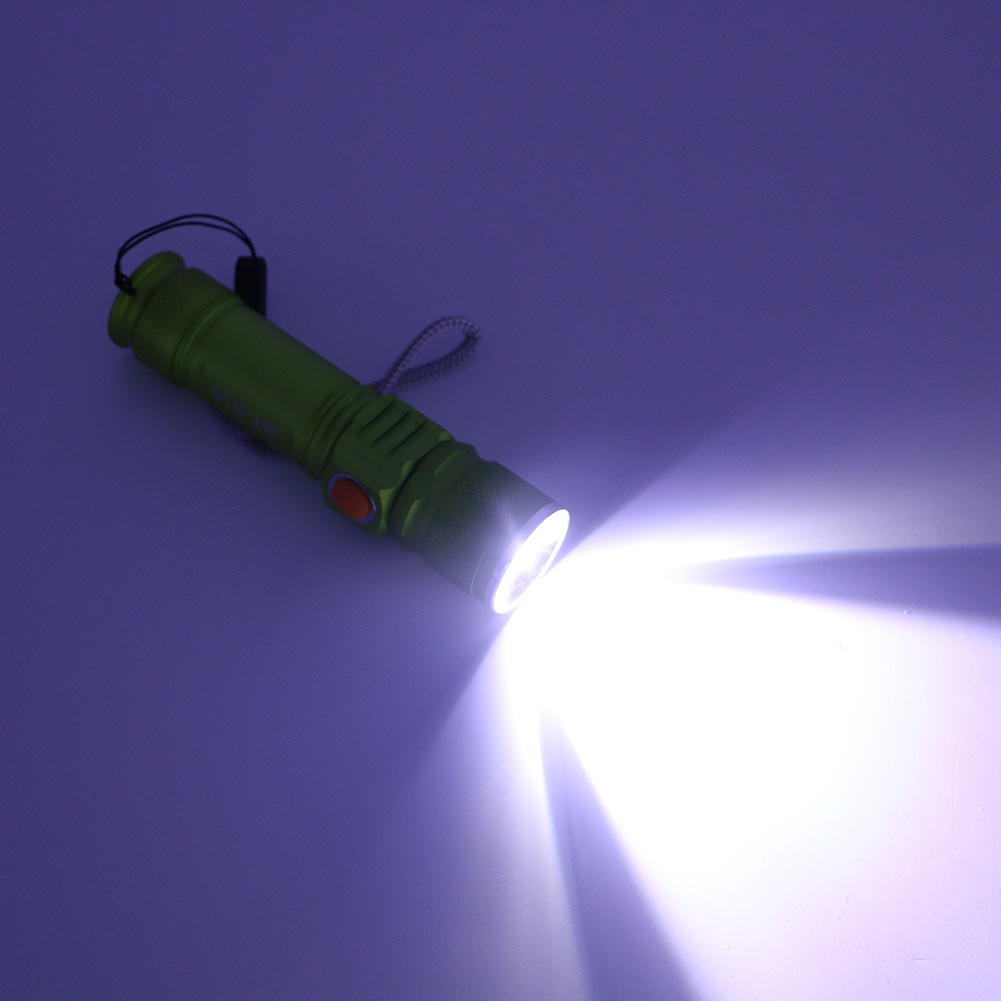 Portable Mini flashlight XM-L T6 LED USB 2-in-1 spotlight torch rechargeable 18650 Built-in battery waterproof light Flashlight portable light mini usb flashlight cree xm l t6 led torch rechargeable 18650 built in battery waterproof flash light 3000 lumen