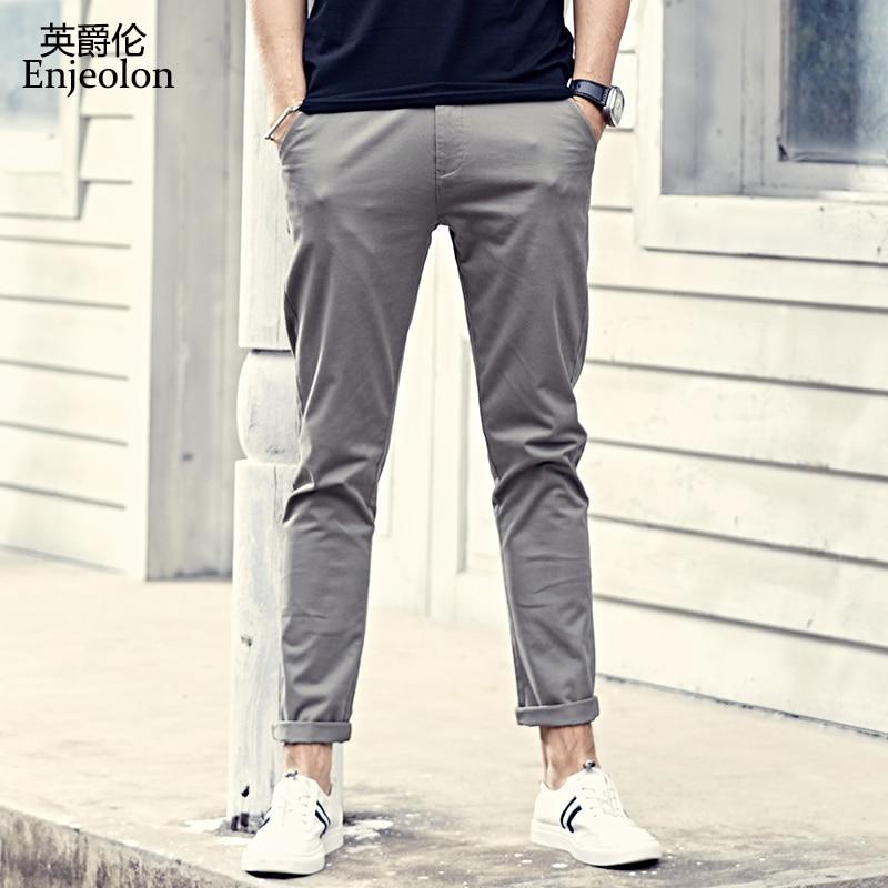 Enjeolon Brand Fall Ankle Trousers