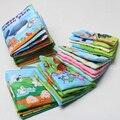 6 estilo inglês tecido macio livro de pano 0 ~ 12 meses juguetes brinquedos para bebe bebe aprendizagem educação bebê livro toys lbt_002
