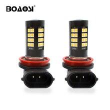 BOAOSI 2x Extremely Bright H8 H11 HB3 9005 9006 HB4 LED Fog Light Bulb Lamp 1200LM White