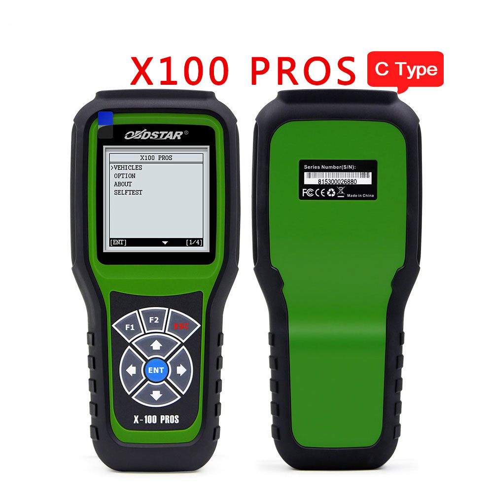OBDStar X100 PROS Auto Key Programmer C Type IMMOBILISER + OBD software with EEPROM Adapter Update online X100 PRO