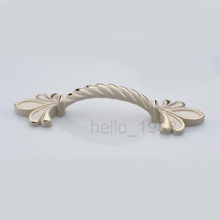 4 pzas estanter/ía armario color bronce para caj/ón Mangos cl/ásicos de aleaci/ón de zinc retro 80 mm puerta aparador