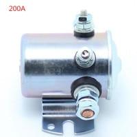 Công Suất cao Xe Tiếp Sức tất cả các kim loại contactor tự động Chuyển Tiếp 12 v/24VDC 200A Ô Tô Xe Tải Động Cơ