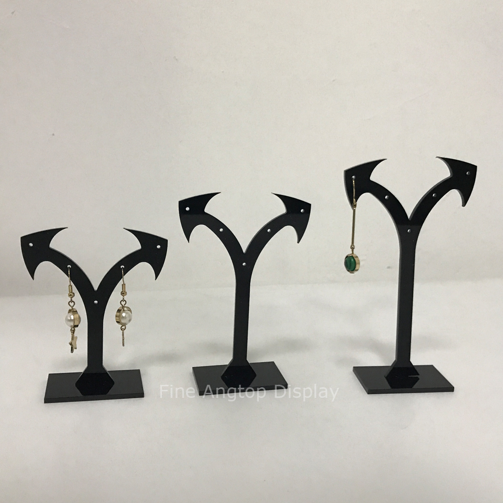 Pack Of 3 Black Acrylic Jewelry Display Arrow Shaped T Stand For Stud Dangle Hoop Earrings Square Base In Jewelry Packaging Display From Jewelry Accessories On Aliexpress Com Alibaba Group See more of standing arrow jewelry on facebook. www aliexpress com