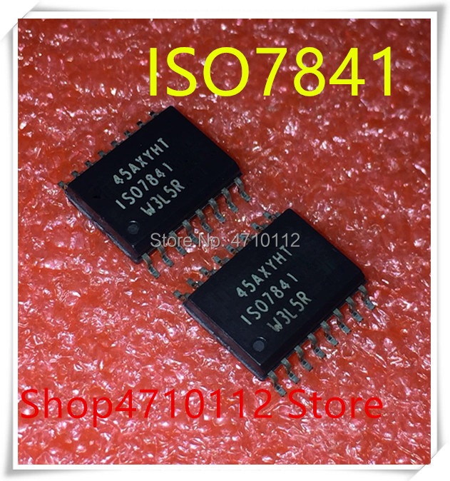 NEW 10PCS LOT ISO7841DWR ISO7841DW ISO7841 SOP 16 IC