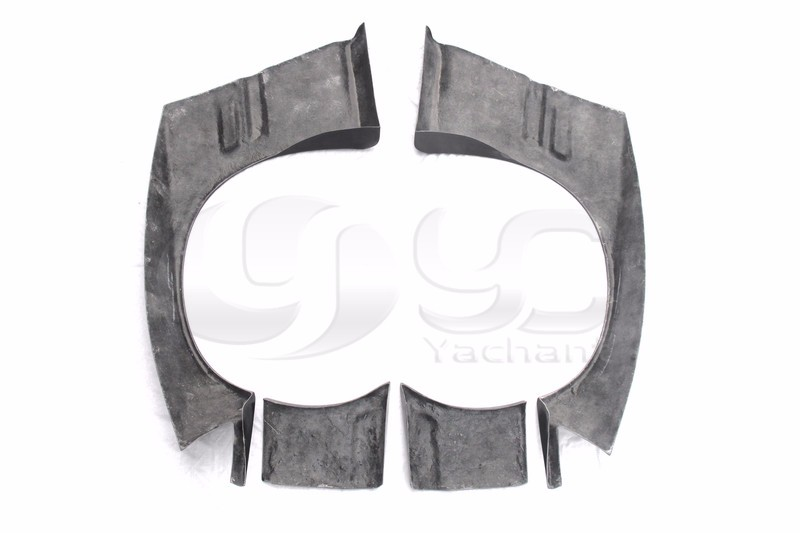 1992-1999 BMW E36 Coupe GReddy Pandem Style Front Over Fener Flares FRP (4)
