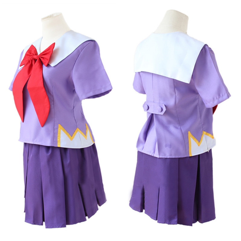 Anime Mirai Nikki future diary Gasai Yuno Cosplay Costumes Girls school uniform dress suit Halloween women outfit