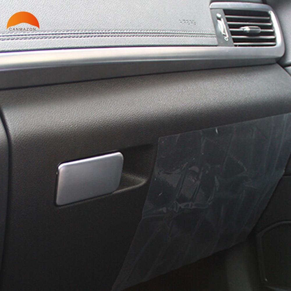 KSTE 2pcs en Fibre de Carbone Style de Gants Bo/îte de Rangement Couverture Trim Fit Frame for Toyota RAV4 2019