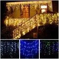 3-24 м светодиодная гирлянда для занавесок  гирлянда для сосульки  светодиодная Рождественская гирлянда для помещений  для улицы  вечеринки  ...