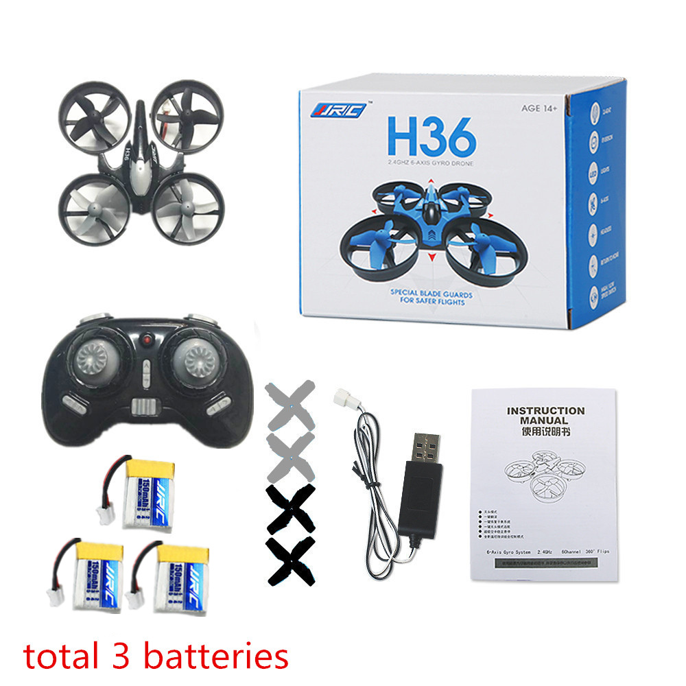 JJRC H36 Mini Drone RC Drone Quadcopters Headless Mode One Key Return RC Helicopter VS JJRC H8 Mini H20 Dron Toys For Kids