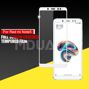 Image 4 - 9D Tempered Glass on the For Xiaomi Redmi 5 Plus S2 4X 5A Redmi Note 4 4X 5 5A Pro Screen Protector Protective Glass Film Case
