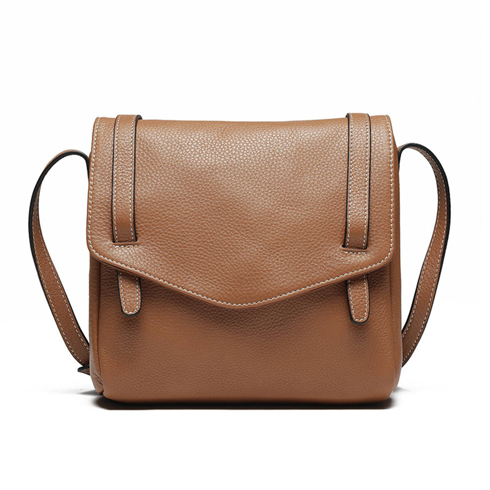 Vintage Style New Unisex Shoulder Bag Famous Brand Design Leather Messenger Bag Cow Leather Satchels Bag for Women Men