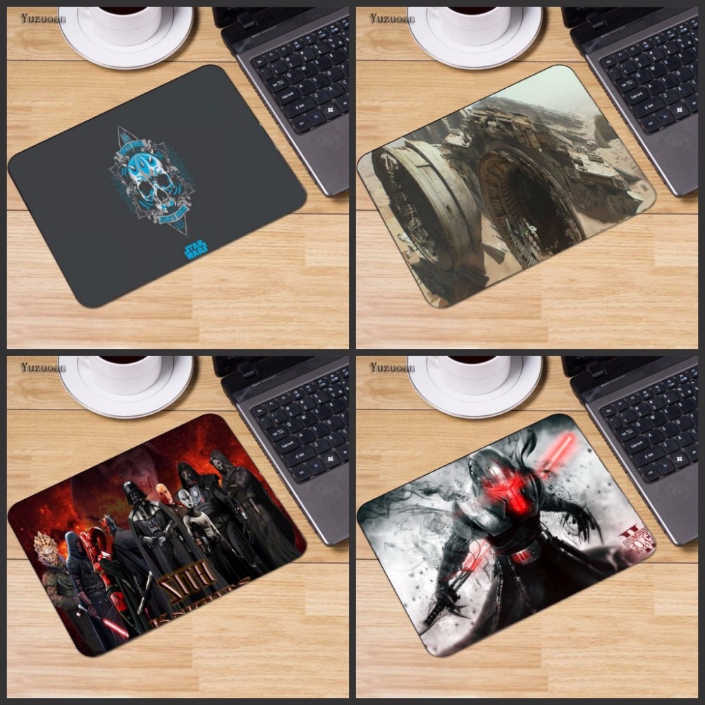 Yuzuoan Wholesale Star Wars Sith Warrior Computer Mouse Pad Mousepads Decorate Your Desk Non-Skid Rubber Pad 250mmx290mmx2mm ...