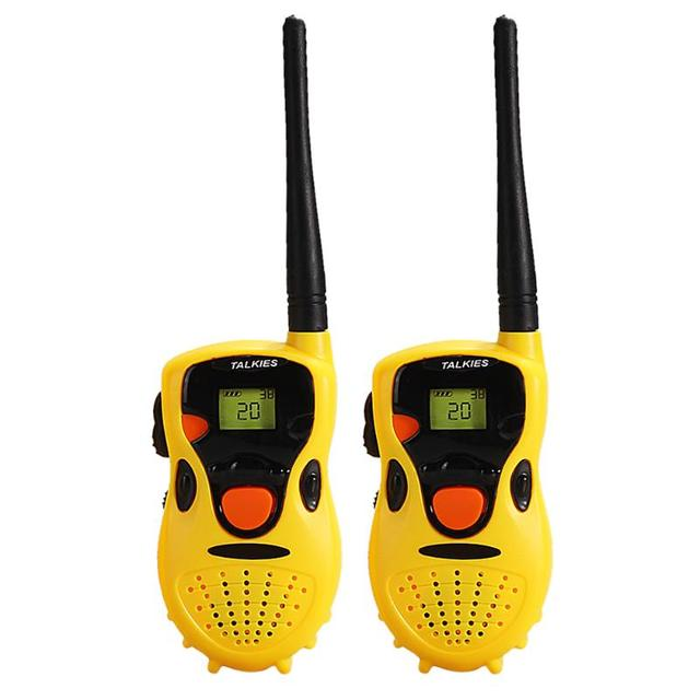 1 Pair Handheld Toy Walkie Talkie Children Educational Games Interactive Toys kids Cute Kids Radio Relogio Interphone Gift 3