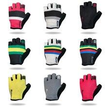 Racmmer 2019 Breathable Cycling Gloves Road Bike Gloves Men Sports Half Finger Anti Slip Bicycle MTB Road Bike Gloves #CG-01