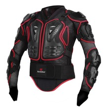 KAWOSEN Full Body Armor Motorcycle Jacket Motocross Protector Universal Body Armor Protective Jacket Powerful Protection MA04
