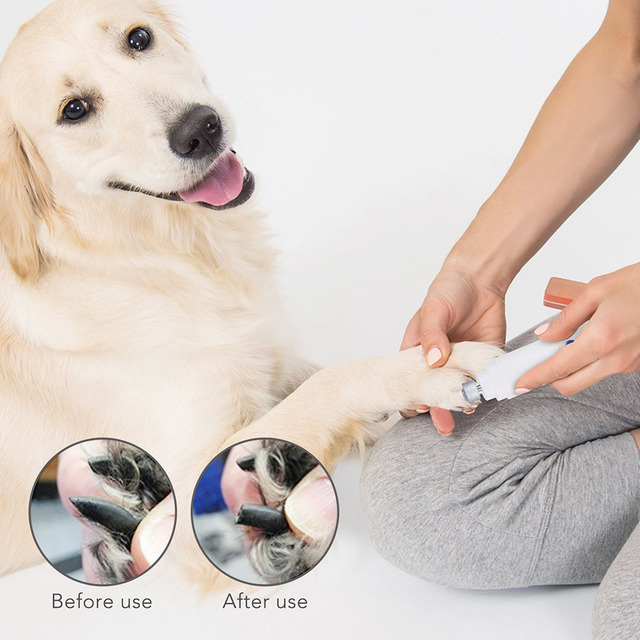 Hot Sale Pet Nail Grinder Electric Nails Grooming Tool Pet Paws File