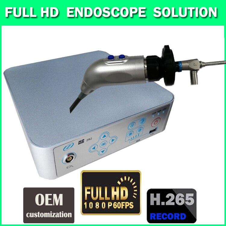 Cámara endoscópica médica FULL HD 1080P60FPS grabación USB PC y teléfono red inalámbrica, laparoscopia artroscopia histeroscopia ENT