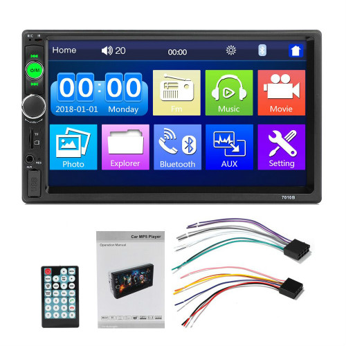 auto radio 2 din Car Radio 7 Inch Auto Radio Multimedia Player with Android Mirror link Support Steering Wheel Remote