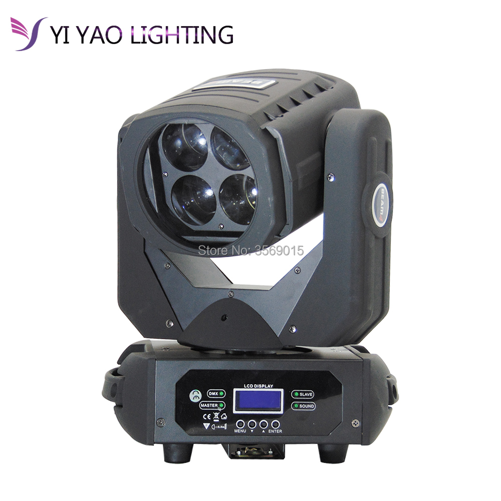 4x25W LED Super Beam DJ stage light Moving Head Beam 4 Effect Light