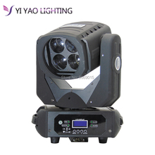 4×25 Вт светодиодный Супер луча этап DJ свет перемещение головы луч 4 световой эффект