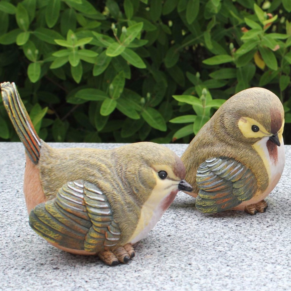 Online buy wholesale artificial birds from china for Decorative birds for outside